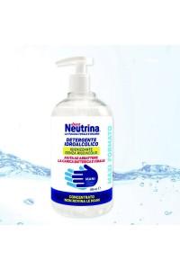 Exent Neutrina Gel Detergente Disinfettante mani con alcool al 70% 500 ml MAXI FORMATO