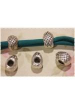 10pz separatore/distanziatore a forma di ananas charms braccialetto fettuccia