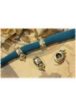 10pz separatore/distanziatore a forma di biberon charms braccialetto fettuccia