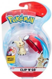 Pokemon Clip 'N Go con Personaggio MIMIKYU e Poké Ball GIOCHI PREZIOSI