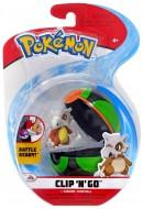 Pokemon Clip 'N Go con Personaggio CUBONE e Dusck Ball GIOCHI PREZIOSI