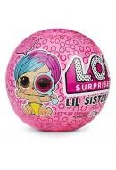L.O.L. Surprise! LIL Sister Serie 4 Sfera con Mini Doll a Sorpresa, 5 Livelli
