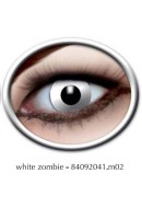 LENTI A CONTATTO WHTE ZOMBIE Eyecatcher cosplay carnevale halloween SETTIMANALI